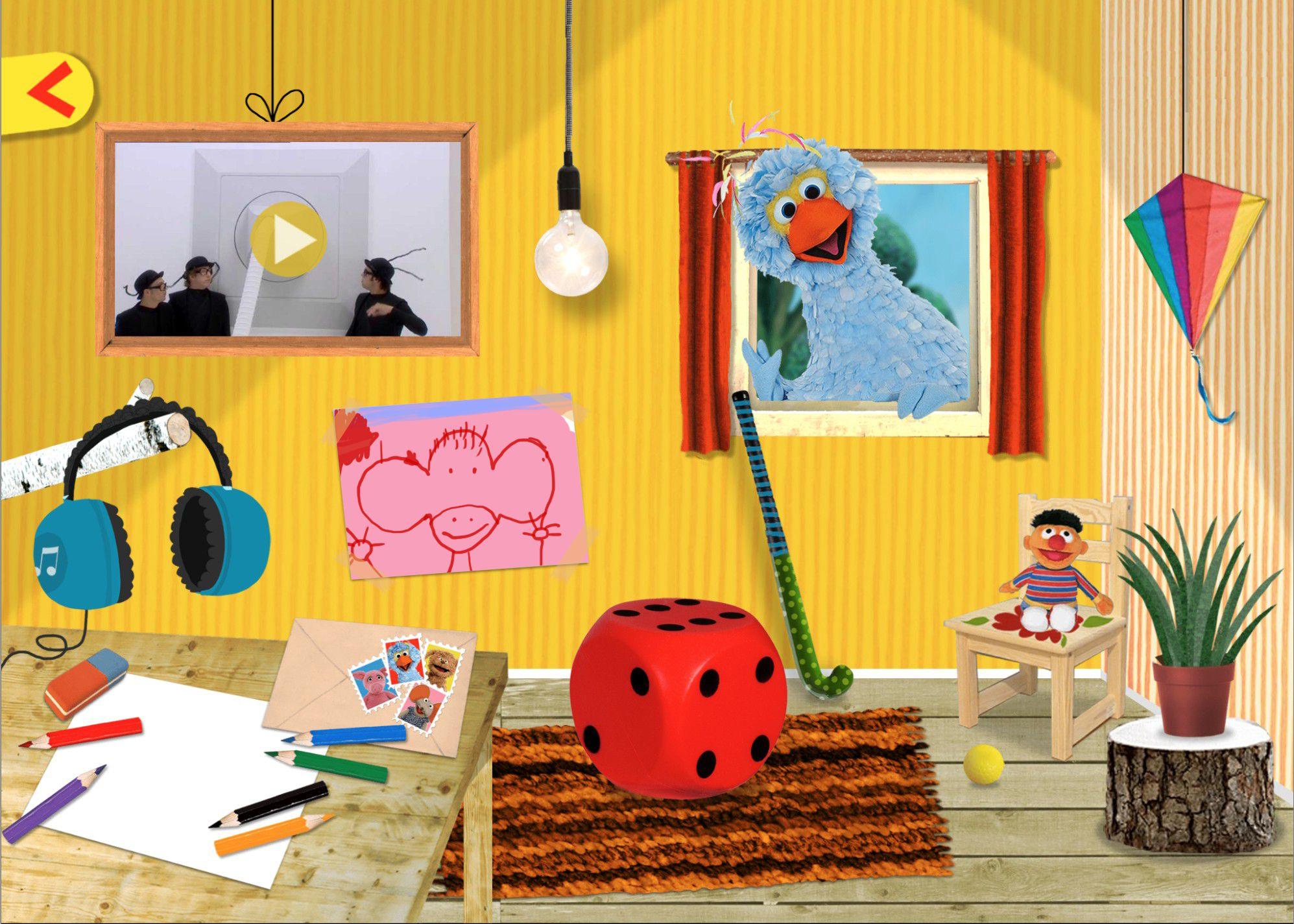 Jouw eigen kamer in sesamstraat - In een kamer ...