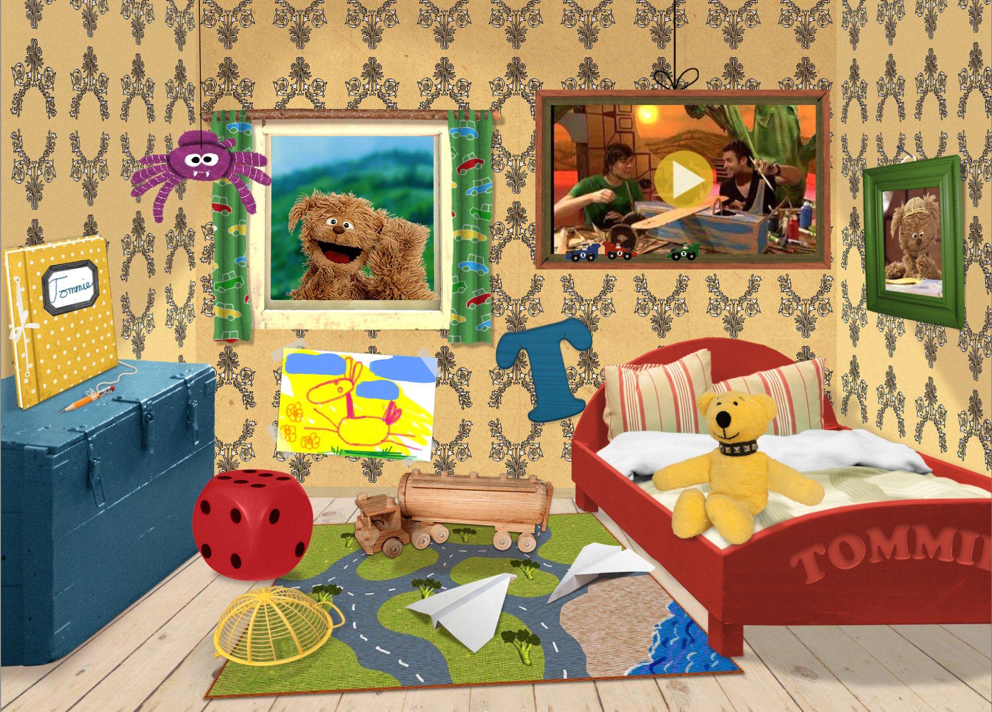 Speel spelletjes samen met tommie - Kamer van water in de kamer ...